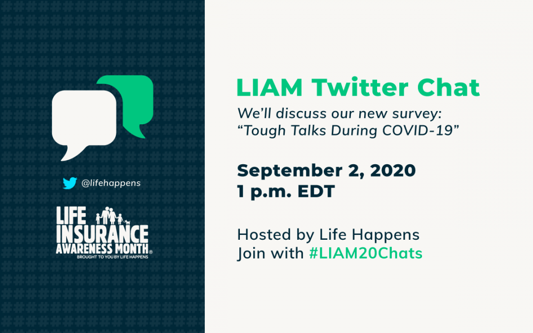 Join Life Happens' Twitter Chat for Life Insurance Awareness Month