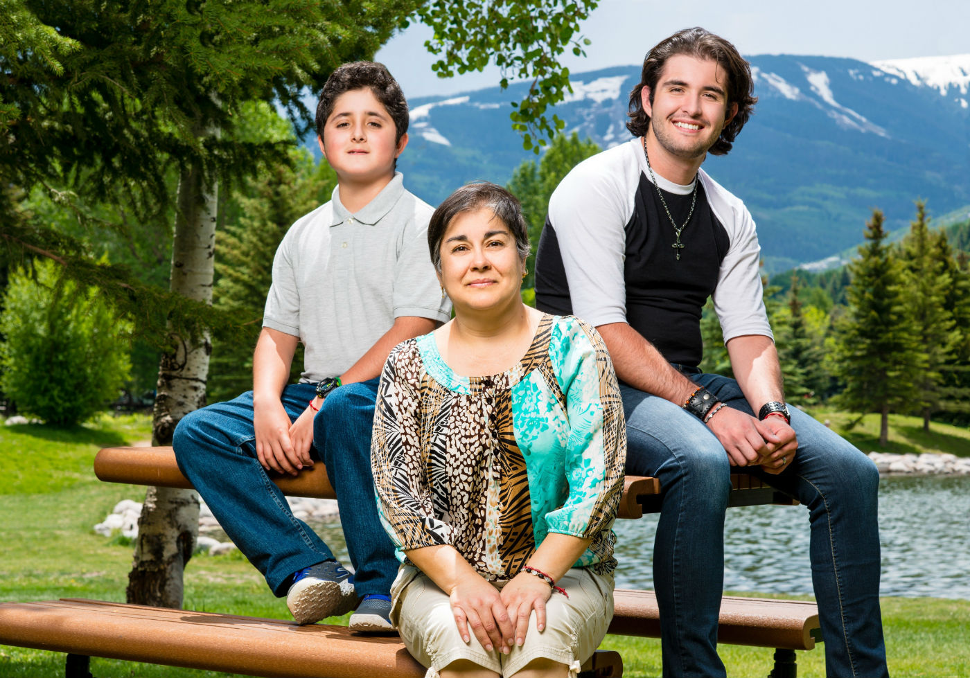 The Loera family story together for National Hispanic Heritage Month