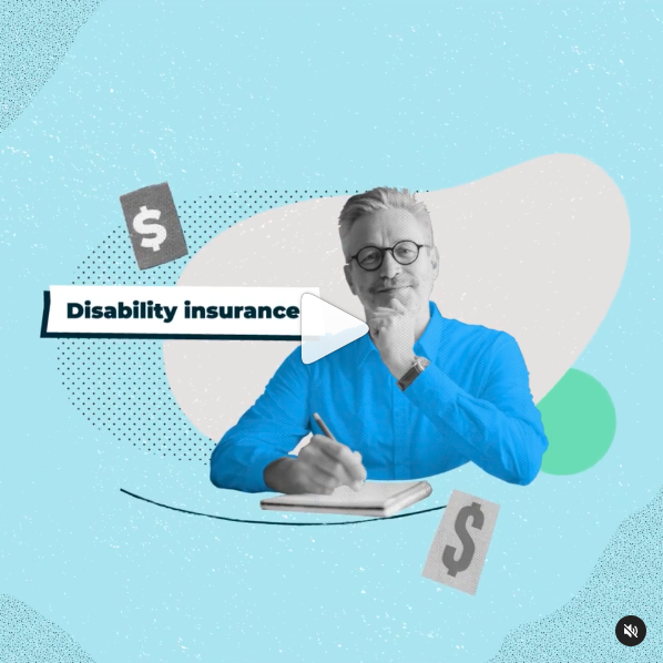 Disability Insurance 101 video thumbnail with play button