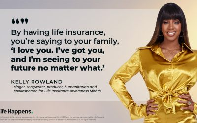 Kelly Rowland Talks Life and Life Insurance: 'It Truly Eases My Heart and Mind.'